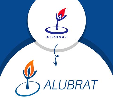 Apresentamos-lhes o novo logotipo da Alubrat