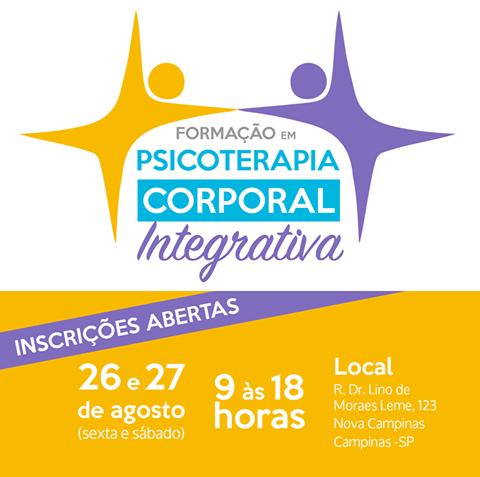 FORMAÇÃO EM PSICOTERAPIA CORPORAL INTEGRATIVA