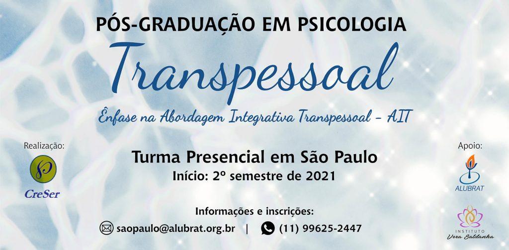 Pós Graduação Transpessoal SP